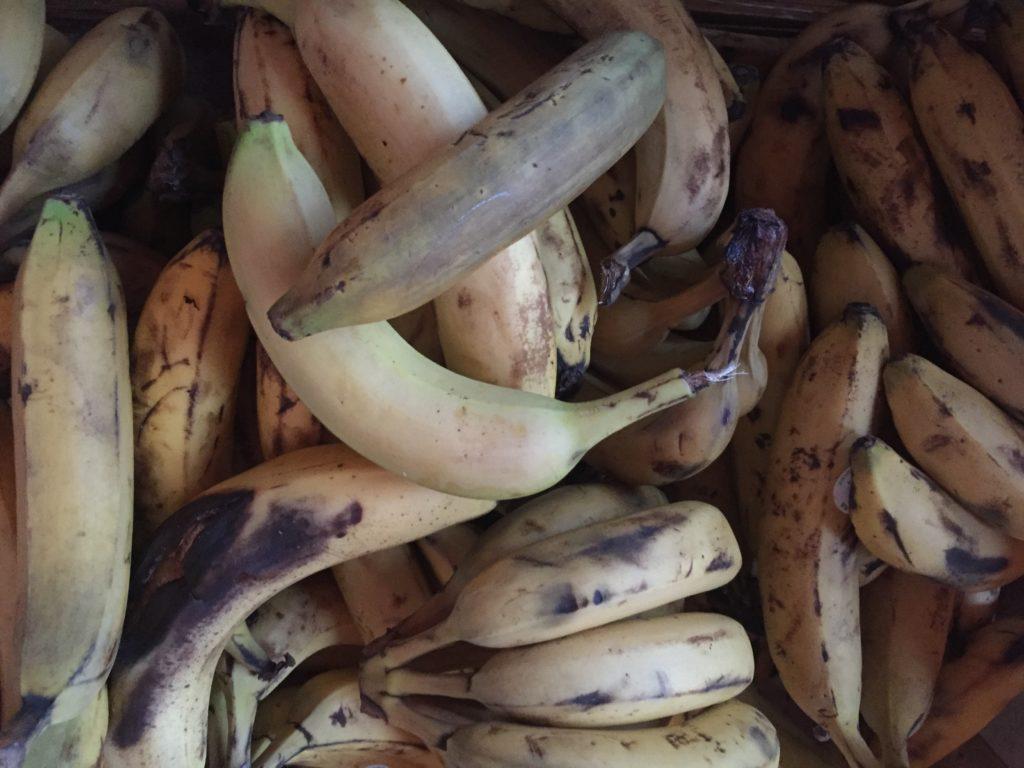 Que faire avec des bananes trop mûres ?