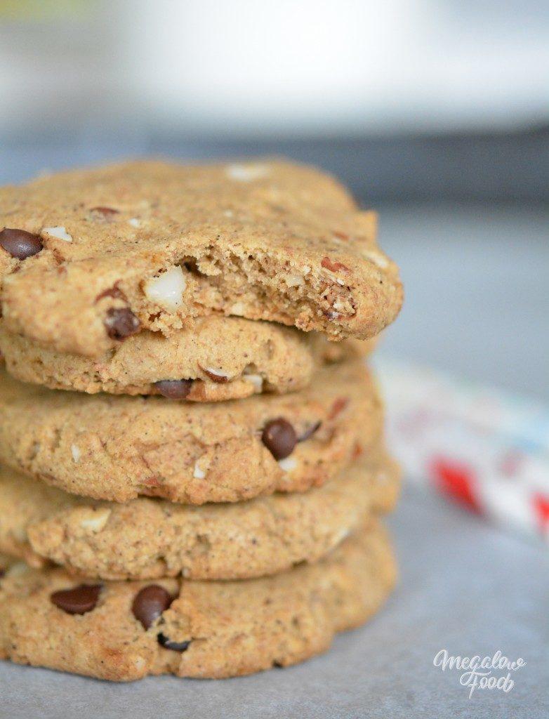 Cookies pralinés à l'okara de noisette