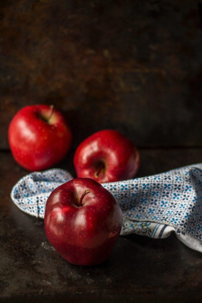 Crème de pommes et son crumble