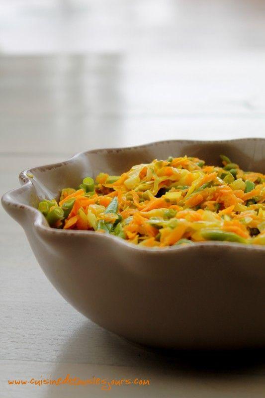 Achard de légumes, simple et exotique !