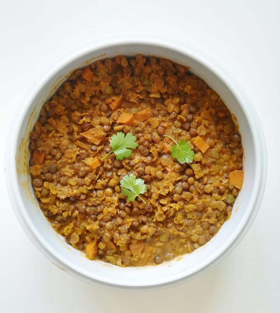 Dhal (plat de légumineuses à l'indienne)