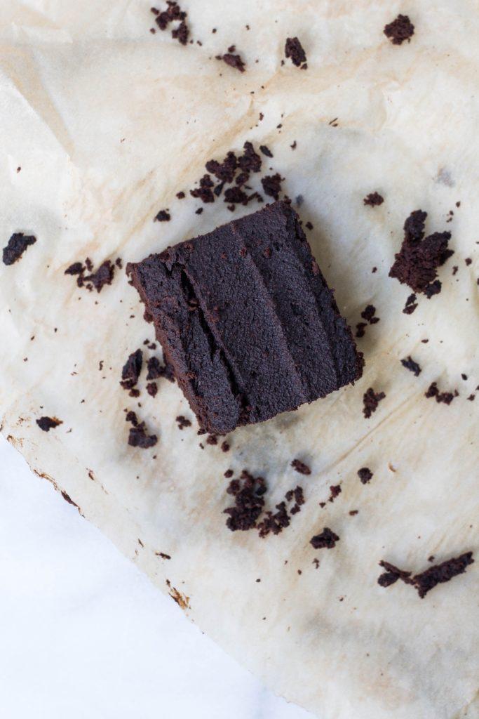 Gâteau au chocolat & à la patate douce