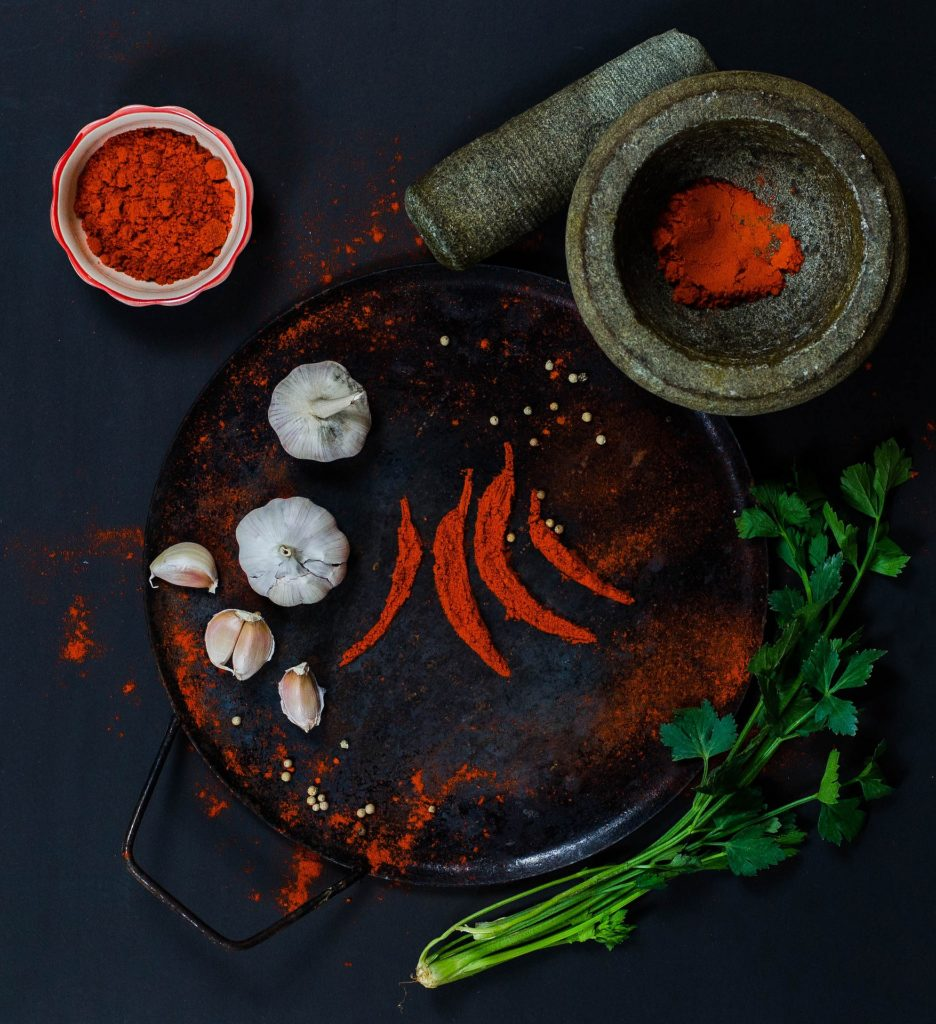 Butternut Squash Curry with Raita