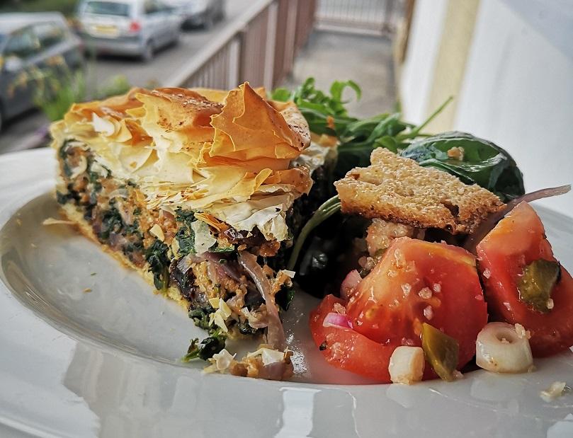 Cornish Panzanella salad